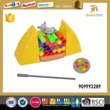 Kid plástico Jimmy mouse brinquedo jogo