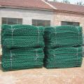 Malha de Gabion do PVC com rede de arame / rede sextavadas