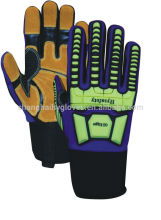 Heat Resistant/Super Oil Repellency/Oil Field/Impact Glove - 7937