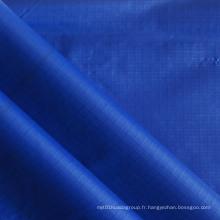 Shiny Oxford Ripstop Tissu en nylon pour vêtements