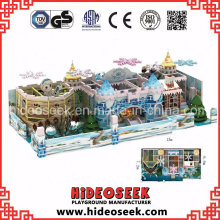 Ice Snow Theme Children Soft Indoor Naughty Castle Playground