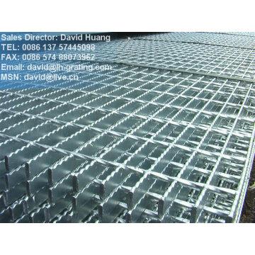 Grade galvanizada pesada, grade galvanizada fabricada, grade galvanizada soldada