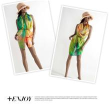 Новое шифоновое сексуальное платье Wrap Платье Sarong пляжа вверх по шарму Swimwear повелительниц Sun Beachwear