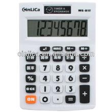 Calculadora / calculadora de 8 dígitos MRC botão / calculadora de taxa de câmbio / calculadora para uso de escritório
