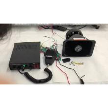 Sirena del sistema de PA del coche de la alarma del cuerno PA300 del altavoz de la ambulancia 150W de la policía del CE
