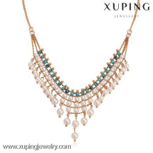 42016 Beautiful pearl necklace jewelry, latest design pearl jewelry, beads necklace design