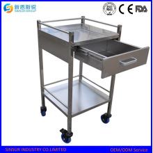 Comprar China Origen Multi-Función de acero inoxidable Hospital Trolley