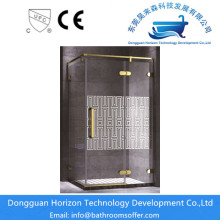 Large corner shower units shower door hardware
