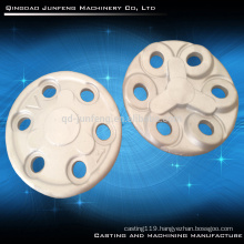 Customized aluminum sand casting flange