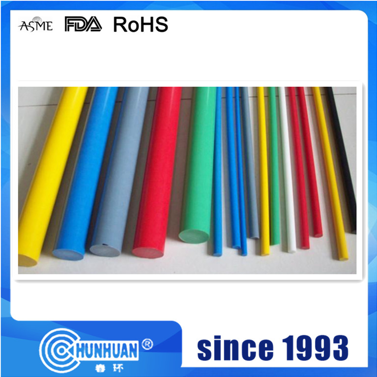 PTFE Color Rod riempito con altri materiali