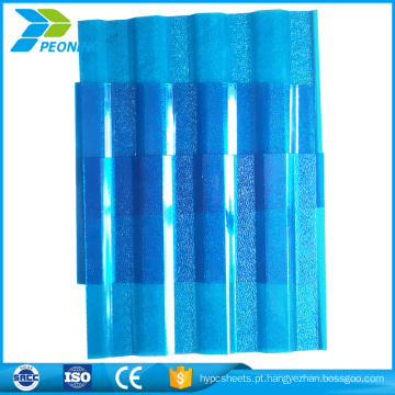 Folhas de policarbonato personalizadas para venda quente para folha de plástico de construção