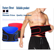 Neoprene fitness running waist belt for back pain