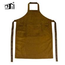 Avental do trabalho do avental do couro do barbeiro do avental do cozinheiro chefe para mulheres