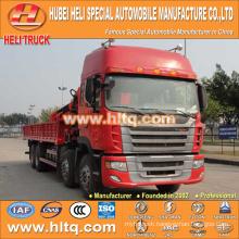 JAC 8x4 16.0 tons XCMG crane crane truck 270hp hot sale for export
