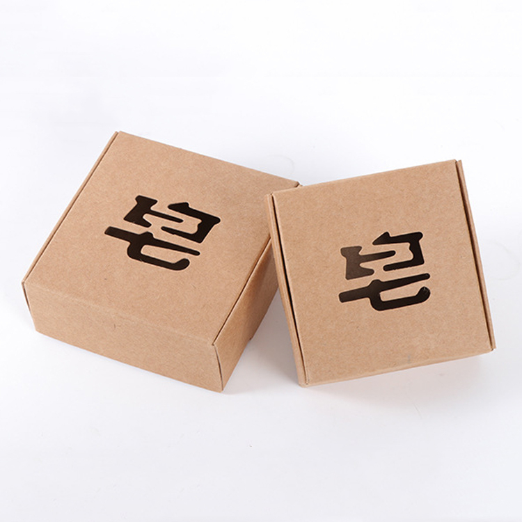 Custom Gift Box Craft Paper Soap Packing Box