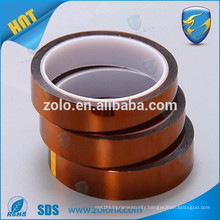 Industry yellow automotive masking bearing high temperature tape with security