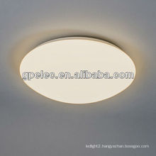 Dimmable round surface mounted LED oyster ceiling light