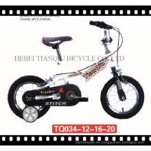 Hebei Factory Cheap New Models Bicicleta para niños Bicicleta para niños (TQ034)