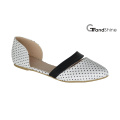 Mulheres Flat Casual Pointed-Toe Ballet Shoes