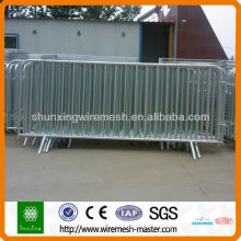 Galvanized/PVC Sprayed Pedestrian Control Barrier