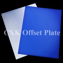Синие цветные офсетные печати Термопластины CTP