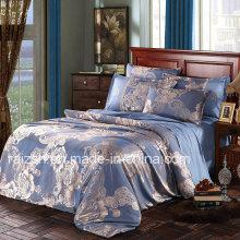 Clásico europeo clásico Jacquard cepillado 4 PCS Textile Bedding