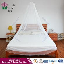 Redes de mosquitos de cúpula suspensa Redes de mosquitos circulares com tamanho King ou Queen para adultos e crianças Home Textile