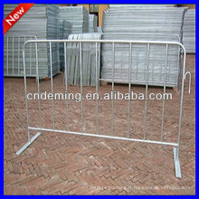 Barrières de contrôle des piétons galvanisées à chaud