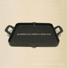 China Gusseisen Griddle Platte zum Kochen