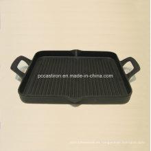 Placa de la plancha del hierro fundido de China para cocinar