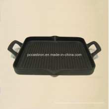 China Cast Iron Griddle Plate for Cooking