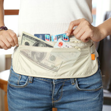 Money Purse Belt Travel Waist Pouch Bag