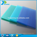 Heat insulated polycarb roof sheeting pc sheet for shed