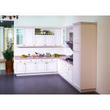 Gabinetes modernos de la cocina de la tabla de la melamina del diseño simple en venta