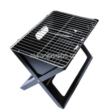Opvouwbare en draagbare compacte notebook-antraciet BBQ X-grill
