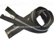 Open end 4 Inch Leather Jacket Zipper