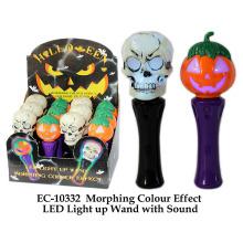 Efecto de color Morphing dejar iluminar la varita con sonido de juguete
