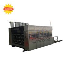 Máquina de corte e vinco com entalhe de impressão automática