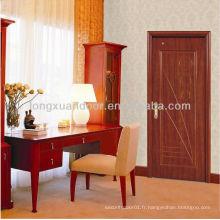 Conception de porte en bois de chambre à coucher, conception de porte de chambre à coucher, design de porte de chambre intérieure