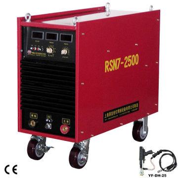 Capacité de la machine de soudage de l'onduleur RSN7-2500 cc