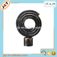 retractable double curtain poles curtain rods in Middle east