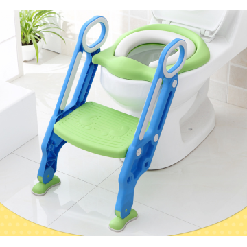 Personlized Products for Baby Care Tools Kids Foldable Toilet Seat Toilet Ladder supply to Singapore Manufacturer
