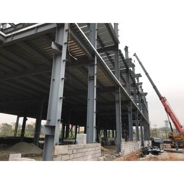 New design prefabricated hot-dipped galvanized light steel structure building