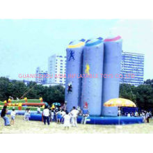 Large-scale Inflatable Amusement Park With Climbing Bungee Trampoline