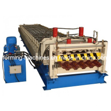 Glazed Tile Forming Machine Step Tile Roofing Machine Roll Forming Machine Roof Panel Machine Forming Machine Roll Forming Machine Roof Panel Machine