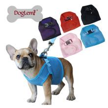 Haustier-Denim-Hundegeschirr des Netto-weichen Hundegeschirr-Großhandels