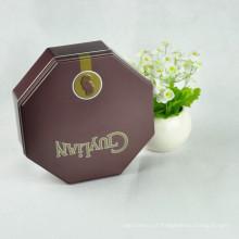 Atacado Custom Chocolate Boxes Food Packaging Tin Box