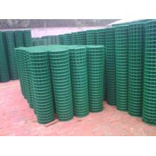 1 / 4''x1 / 4 '' de PVC soldado de malla de alambre soldado (XM-09)