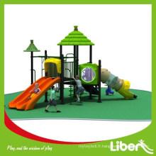 Les enfants en plastique à prix réduit jouent en plein air avec SGS supervisent pour jardin (LE.DC.026)