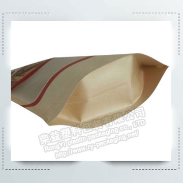 Stand up Packing bag for Jujube clamp Almonds